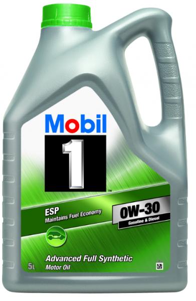 MOTOROVÝ OLEJ MOBIL 1 ESP 0W30 5L - Viskózní třída 0W-30