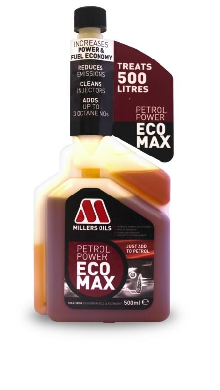 Premium Petrol Power EcoMax, aditivace benzínu 500 ml MILLERS OILS