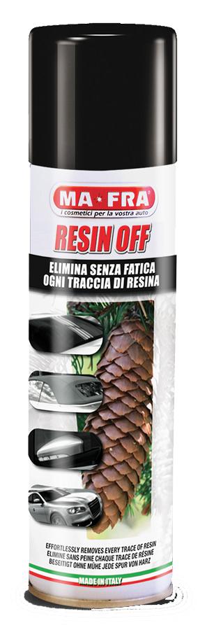 PULIRESINA/ Resin off, 250 ml odstraňuje pryskyřici a soli - sprej MA-FRA