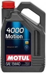 MOTOROVÝ OLEJ MOTUL 4000 MOTION 15W40 5L - Viskózní třída 15W-40