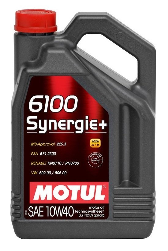 MOTOROVÝ OLEJ MOTUL 6100 SYNERGIE+ 10W40 4L - Viskózní třída 10W-40
