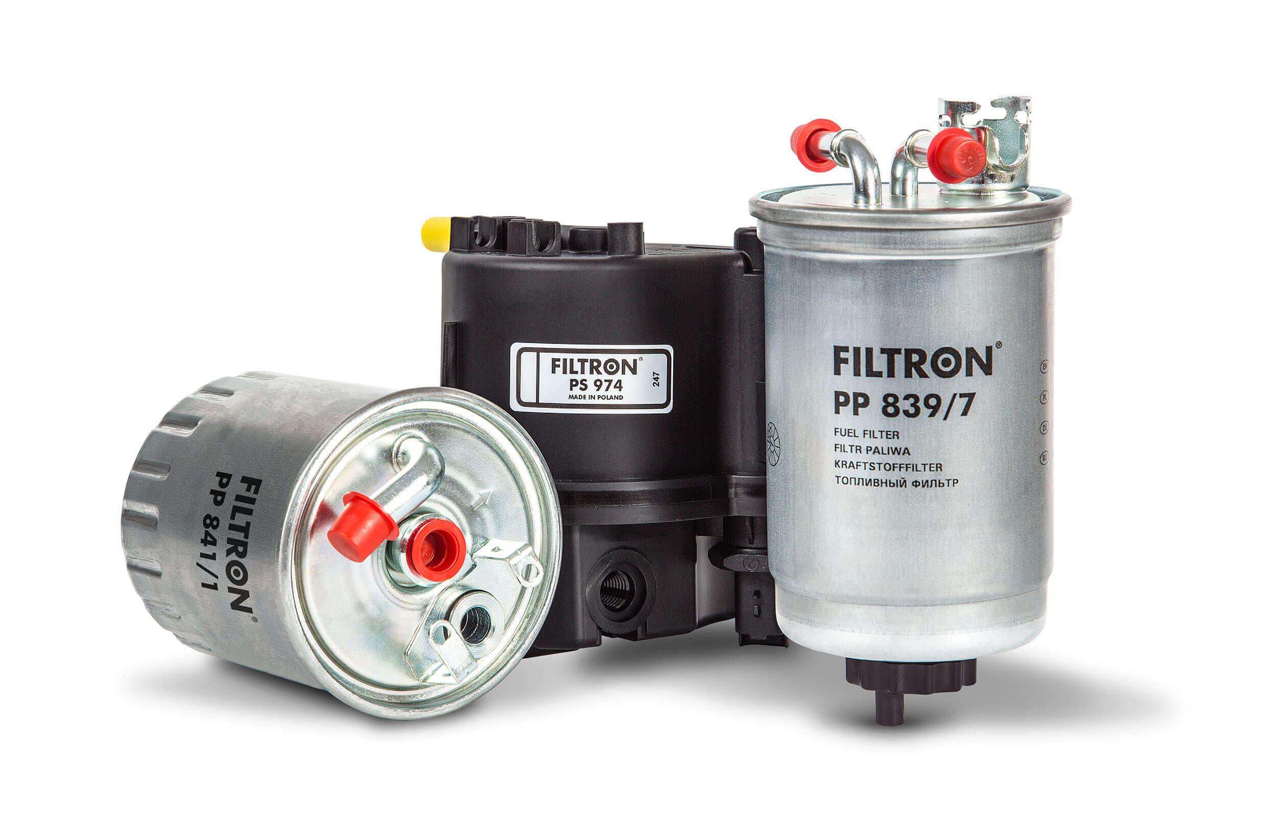 Filtron - palivovy filtr s připojením
