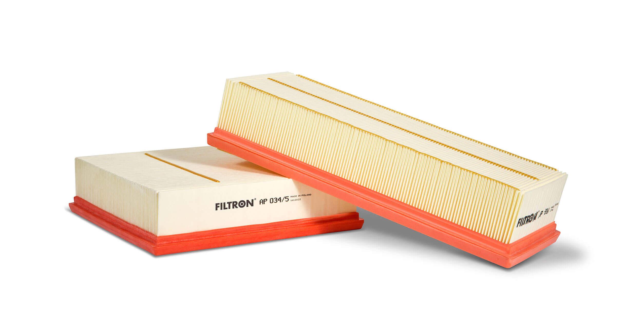 Filtron - panelové filtry papírové