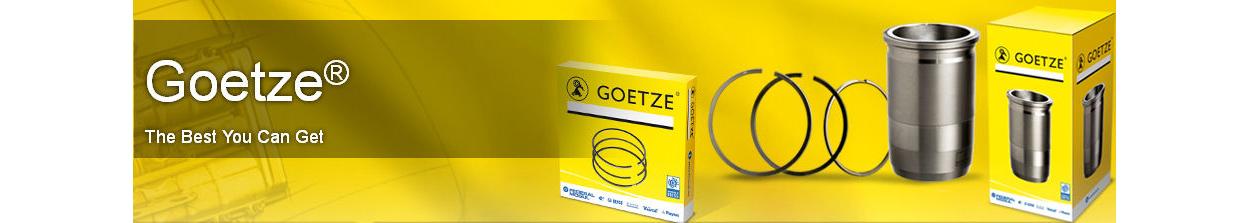 Pístní kroužky Goetze nabízí vysokou tvrdost a nižší spotřebu oleje o 50 %. Kvalitní pístní kroužky Goetze LKZ s diamantovonu úpravou.