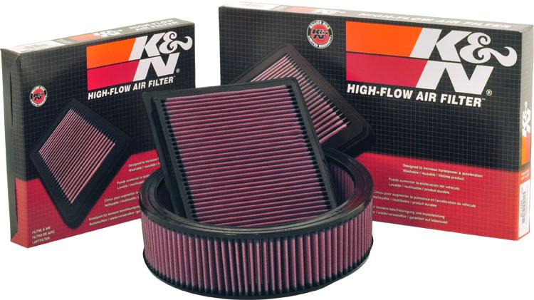 K&N FILTER - filtr vzduchu