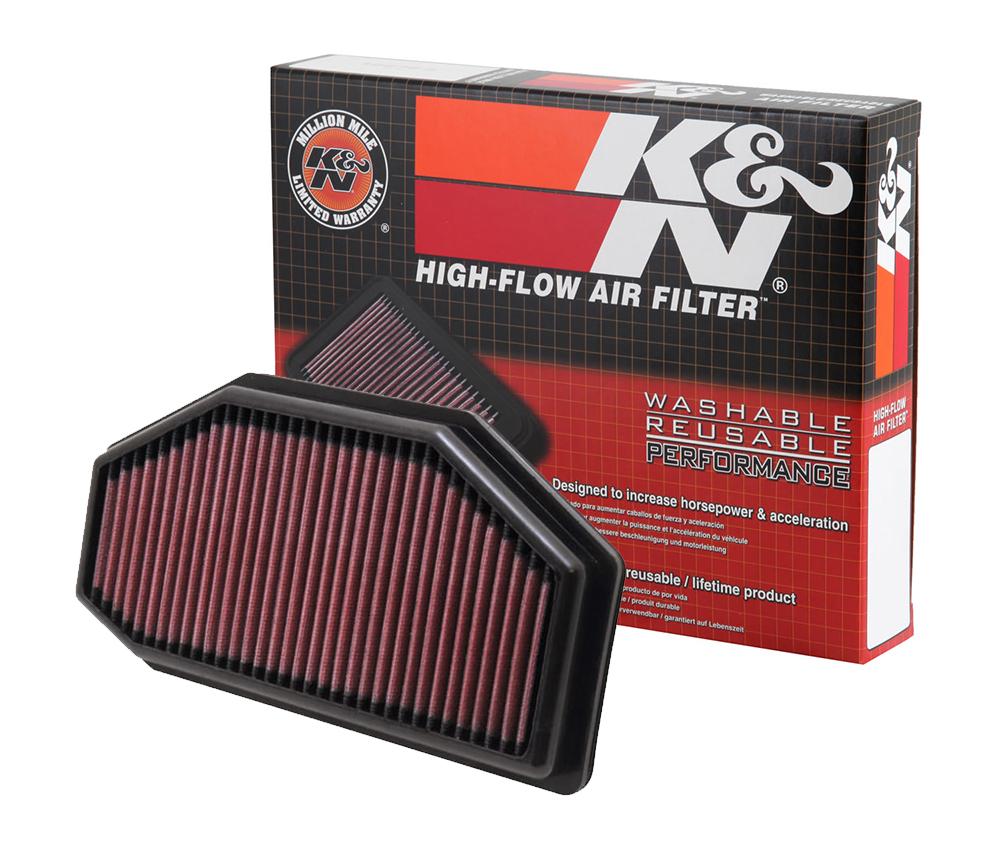 K&N FILTER - pratelné vzduchové filtry
