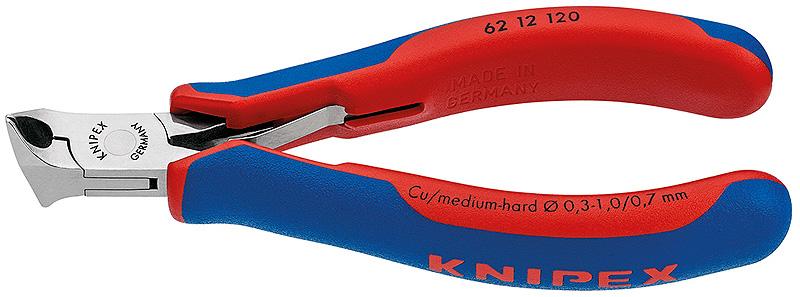 Knipex kleště štípací na elektroniku 62121204k