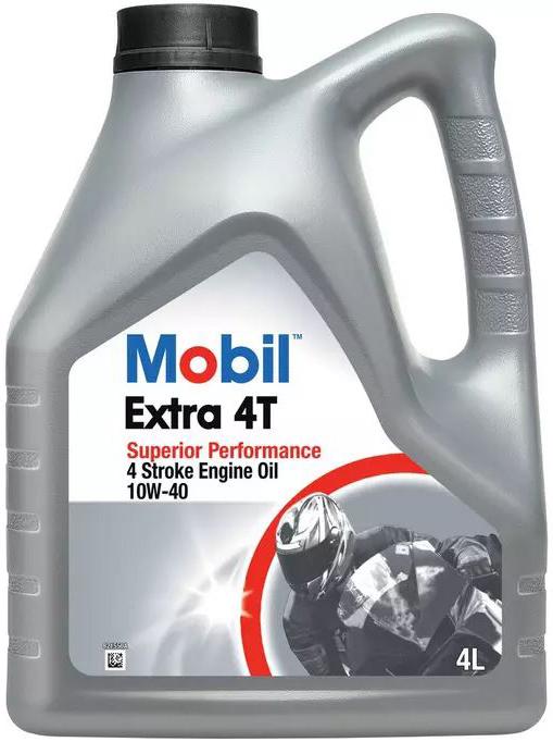 MOTOCYKLOVÝ OLEJ MOBIL EXTRA 4T - viskózní třída 10w40