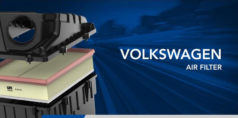UFI vzduchový filtr volkswagen